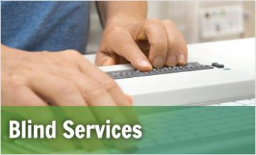 Blind Services page