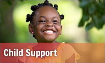Child Support page