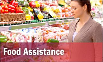 Food Assistance page